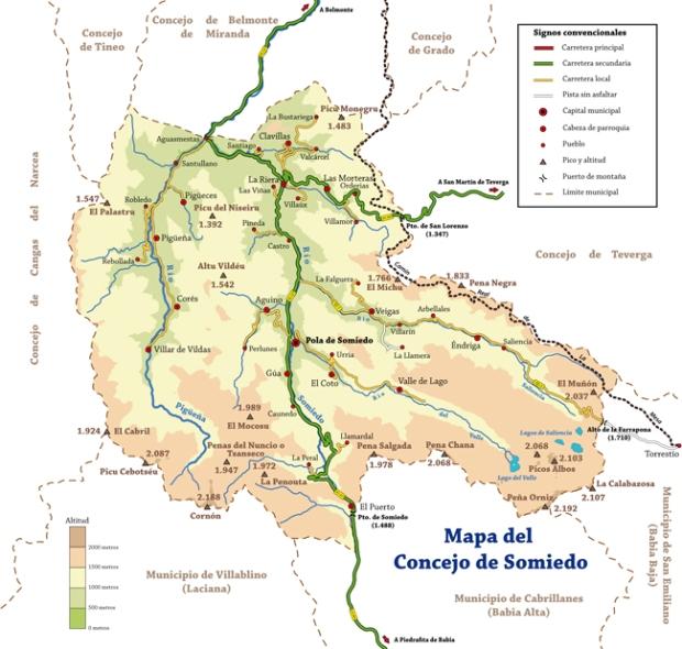 00 Mapa Parque Somiedo
