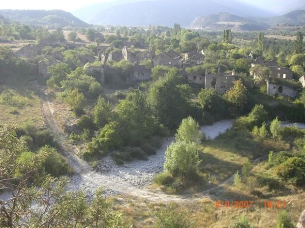 Vista de Jánovas. Ambiesta de Chanobas