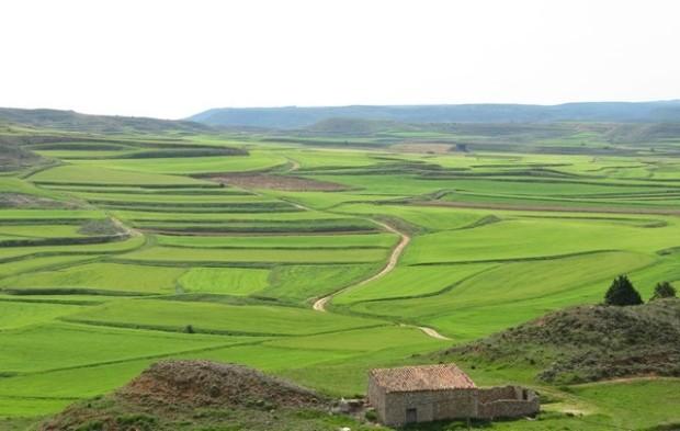 05 Las Celadas o Campo Matanza desde la cima del pueblo - dende o cobalto d'o lugar