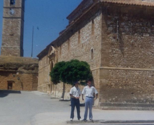06 Chabier De Jaime y Migalánchel Martín cantando xoticas en Monreyal d´o Cambo (estiu-1987)