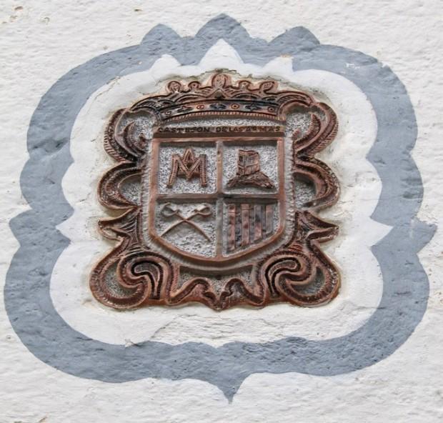 Escudo de Castejón de las Armas. Escuto de Castellón de las Armas