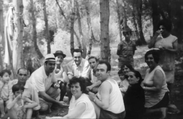 Los hermanos Dora, Gloria y Nicerato con mucha familia. Os chirmans, Dora, Gloria, Nicerato con muita familla
