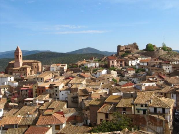 Vista de Aranda de Moncayo.- Ambiesta d´Aranda d´o Moncayo